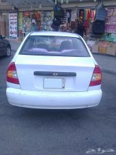 هونداي أكسنت أبيض 2003 للبيع