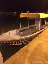 قارب للإيجار (نزهه - صيد - غوص) .. أفراد وعائلات .. بوت بحري