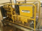 مولد كهرباء (( ماطور )) مكينة ياباني ميستوبيشي 35كيلو ديزل للبيع  (((الحد 13)))