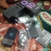 للبيع هاتف بلاك بيري Q10 أسود نظيف