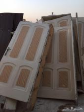 أبواب خشب مستعمل للبيع ب 100 ريال للباب