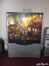 تلفزيون بروجكشن 69 بوصة توشيبا للبيع تم تخفيض الحد 600 ريال