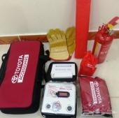 شنطة السلامة تويوتا TOYOTA جديدة وكالة أصلية شاملة طفاية الحريق لجميع موديلات تويوتا