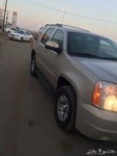 يوكن 2008 ذهبي دبل سعودي ماشي 235 كيلو