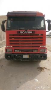 رأس شاحنه سكانيا موديل 1996 للبيع في الرياض