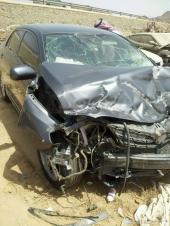 مصدوم كورلا 2012 للبيع تشليح