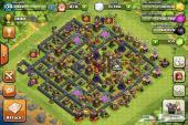 clash of clans lvl 138 البيع اليوم