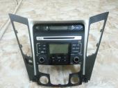مسجل سوناتا 2012 جديد ال SD  لم يستخدم مع الديكور ومقياس حرارة الجو وكاله لزقة الوكاله عليه