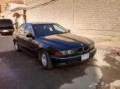 سيارة BMW 528I موديل 1998 فئة E39 بحالة جيدة جدا خالية من المشاكل-جير عادي