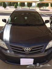 للبيع كرولا 2012 قير عادي قزاز أتوماتيك بدي وكالة سعودية ماشي 78000ك.م