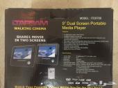 شاشة DVD خلفية للأطفال تركب على التكايه