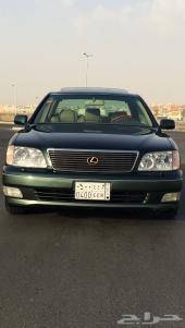 لكزس ls 400 1998 سعودي مخزن نظيف جدا