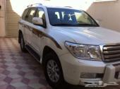 لاندكروزر بريمي ستيني لؤلؤي اللون موديل 2011 في الرياض ولوحة مميزة