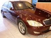 بانوراما 2007سعودى احمر  داخل بيج 176000كيلو S350