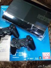 جهاز بلاي ستيشن3 شبه جديد مع العاب مميزة PS 3