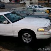 فورد كراون فكتوريا موديل 2000 أبيض للبيع