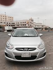اكسنت 2013  تترونيك للبيع أو البدل بسيارة من نوع هيونداي أو تويوتا أو هوندا
