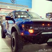 فورد رابتر 2013 أزرق