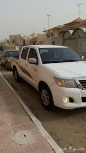 للبيع هايلكس 2012 ماشية 72 الف منوة المستخدم