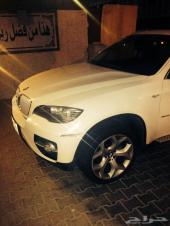 BMW x6 ابيض 2011