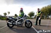 تعليم قيادة دراجه ناريه ب150 ريال فقط شامل كل شي