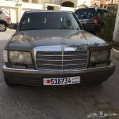 للبيع مرسيدس 1990 sel560 وارد اليابان في البحرين