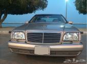 مرسيدس شبح 1998 استمارة 1999 320 s (السيارة للبدل مع بي ام دبليو ودفع الفرق المناسب)
