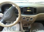 للبيع سيارة اكسنت نظيف جدا  2010 جير عادى
