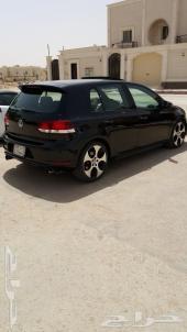 للبيع قولف GTI  أسود 2010 سماكو