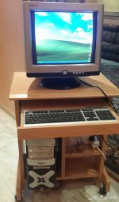 كمبيوتر مكتبي للبيع بحاله ممتازه