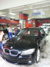 2010 BMW328 اسود ملكي من الداخل احمر