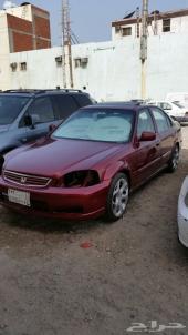 للبيع سيارتي هوندا سيفيك موديل 99-2000