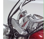 Show Chrome Accessories 4 Prime  Twisted Riser Set