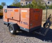 2002 COMPAIR C100 Portable Air Compressor