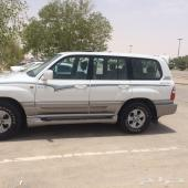 لاندكروزر GXR سعودي 2005 خالي من السمكره