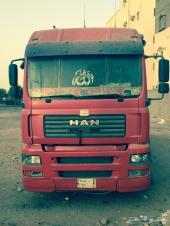 شاحنة مان للبيع موديل 2004