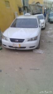 سوناتا تاكسي قير عادي باسم شركه للبيع كاش او اقساط