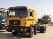 للبيع راس شاحنة مان 89 نظيف استمارة فحص جديد