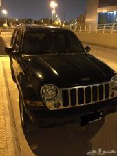 jeep جيب ليبرتي اسود - ليمتد - فل كامل 2006 (22000 SR)