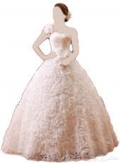فستان زفاف للبيع جديد لم يلبس