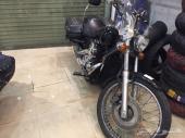 أعرض لكم دباب هوندا شادو 800cc 2008 أسود أمريكي بطاقة جمركية