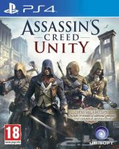 للبيع لعبة assasins creed Unity بلايستيشن 4 ps4