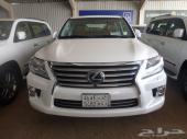 لكزس LX 570  2012  سعودي  فل كامل  عداد 63000  السعر 258000