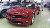 2011 شيفروليه كمارو 6.2L V8 لون احمر