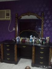 غرفة نوم فاخرة - خشب راقي