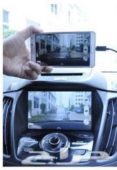اضافة الخرائط ومدخل HDVMI و USB و فيديو و تشغيل ملفات فيديو والجوال صورة وصةت على الشاشة اثناء القيا