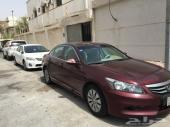 سيارة هوندا اكورد موديل 2012 للبيع وليست للبدل