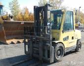 2004 HYSTER H100XM 9450 Lb Forklift