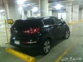 كيا سبورتاج 2012 سوداء اللون نظيفة جدا جدا جدا - للبيع