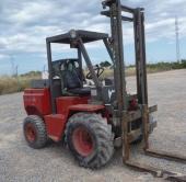 -1999 AUSA CH22 Rough Terrain Forklift